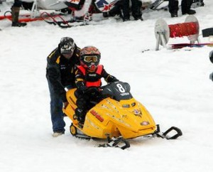John & Blake at Drags Alyeska 2013