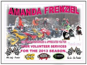 Volunteer AMANDA FRENZEL