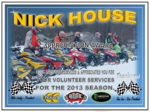 Volunteer Nick House