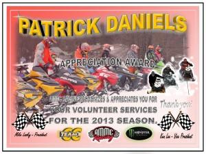 volunteer Pat Daniels