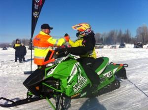 Carly Davis & Mike Lasky Big Lake Race 2013